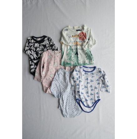 Babyset 5-pack, strl. 68