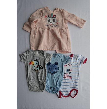 Babyset 4-pack, strl. 62/68