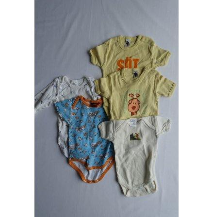 Babyset 5-pack, strl. 62/68